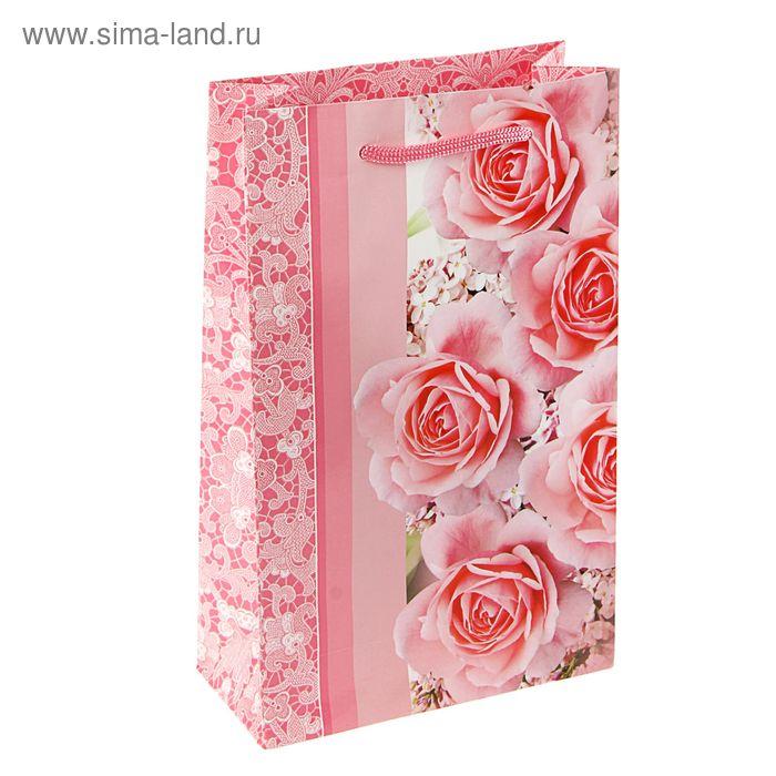 """Пакет подарочный """"Очарование весны"""" 26,5 х 16,5 х 7 см"""