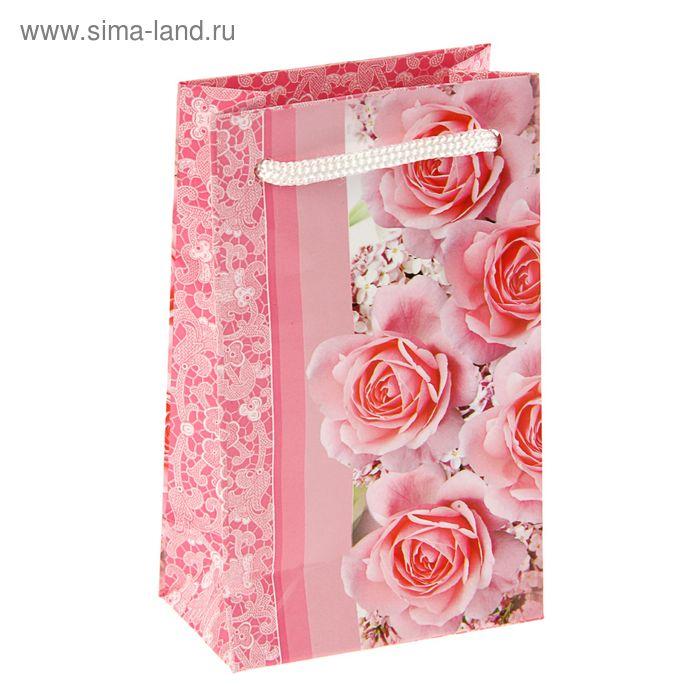 """Пакет подарочный """"Очарование весны"""" 12,3 x 7,4 x 4 см"""