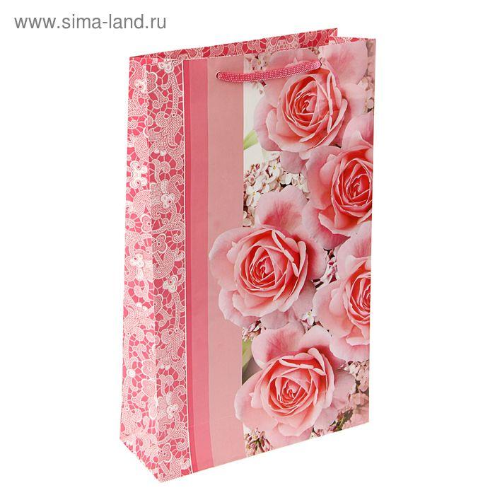 """Пакет подарочный """"Очарование весны"""" 40,5 х 24,8 х 9 см"""
