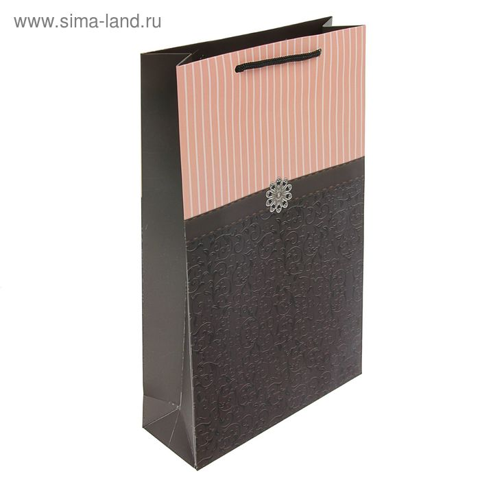 "Пакет подарочный ""Шик"" люкс 40.5 х 24.8 х 9 см"