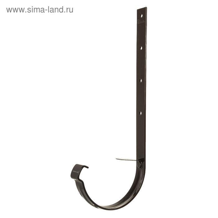 Кронштейн желоба металлический 300 мм шоколад DÖCKE LUX