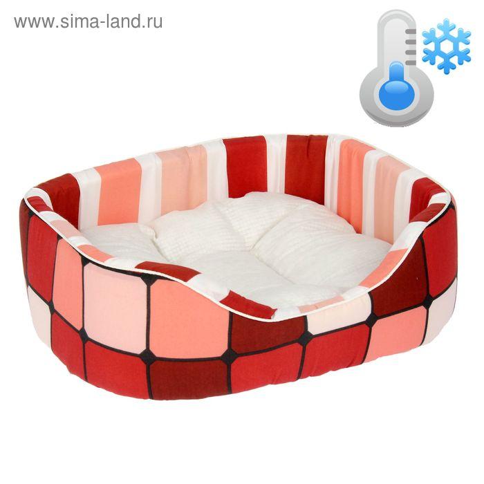 Охлаждающая лежанка для животных, термоткань 51 х 40 х 16 см