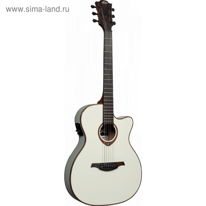 """Электроакустическая гитара """"LAG T100ASCE IVO"""""""