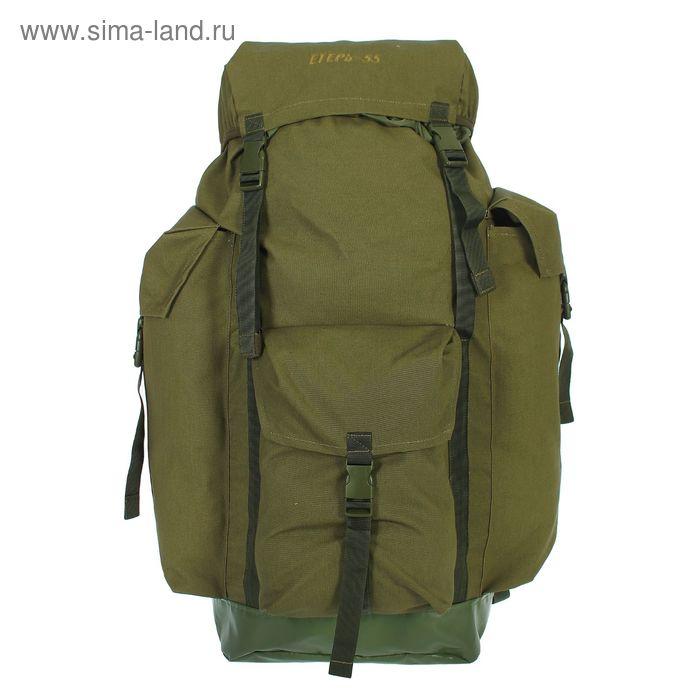 """Рюкзак туристический """"Егерь"""", 1 отдел, 3 наружных кармана, объём - 55л, цвет хаки"""