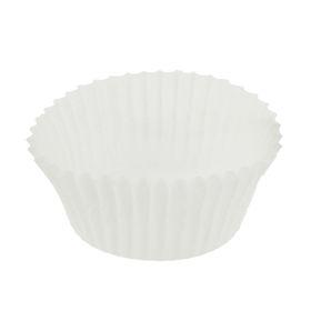 Тарталетка, форма круг, белая, 3,5 х 2 см Ош