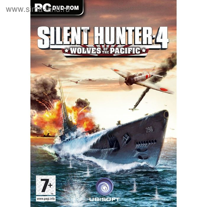 Silent Hunter 4: Волки Тихого океана–Немецкая кампания-CD-Jewel