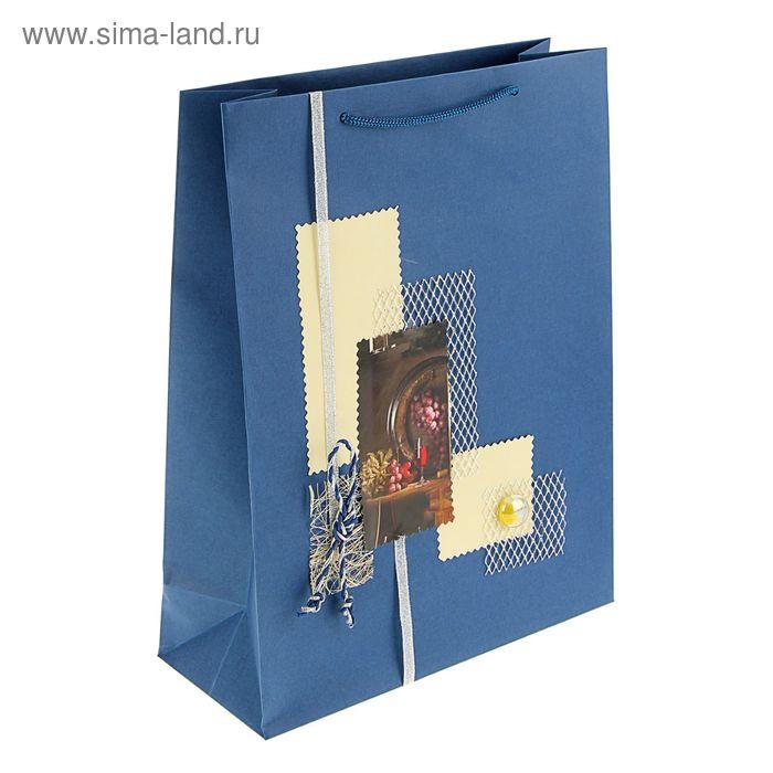 "Пакет подарочный ""Чудо"" 32 х 25 х 10 см"