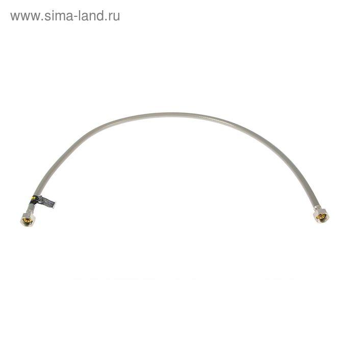 """Подводка гибкая SilverFlex AQUA, внутренняя резьба 1/2"""", 100 см"""