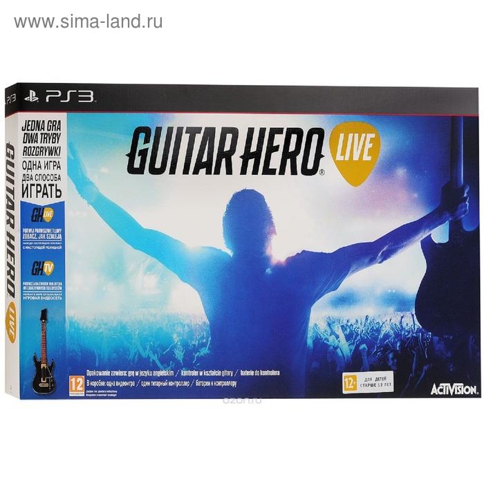 Guitar Hero Live Bundle .Гитара + игра. (PS3)