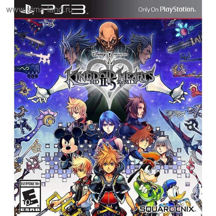 Kingdom Hearts HD 2.5 ReMIX Standard (PS3)