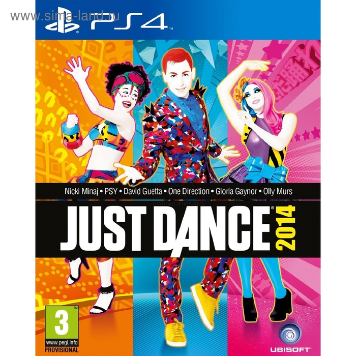 PS4:  Just Dance 2014 (с поддержкой PS Move)