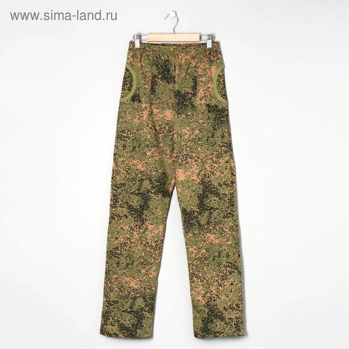 Брюки мужские арт.а445s цвет милитари, р-р 44
