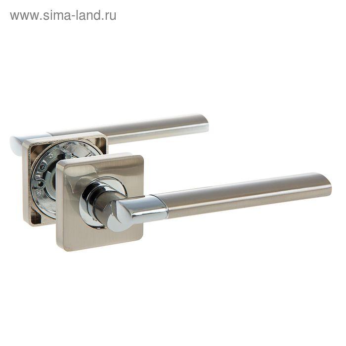 Ручка раздельная TRODOS Premium 02-572 SN, цвет никель