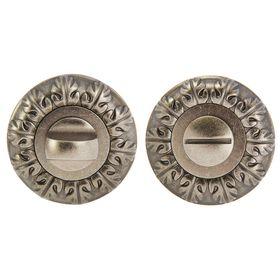 Ручка поворотная TRODOS Premium BK10 DAS, цвет античное серебро