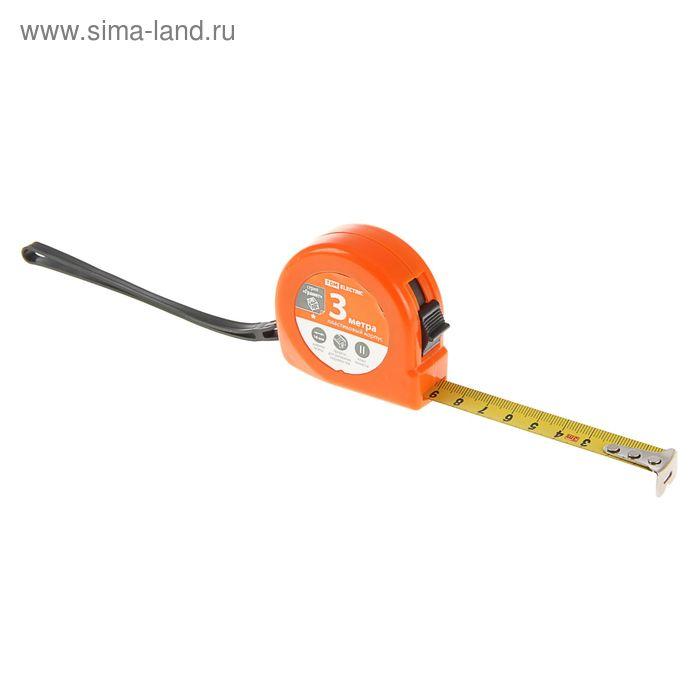 """Рулетка """"Гранит"""", 3 м, стальная лента 16 мм, пластиковый корпус"""