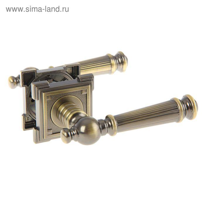 Ручка раздельная TRODOS Premium 19-677 MAB, цвет бронза античная