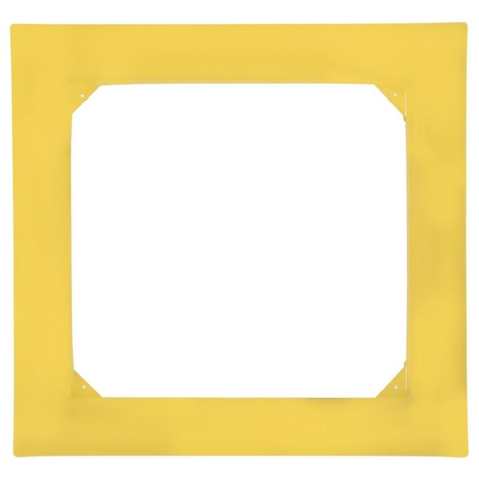 Рамка для фитокартины, цвет желтый
