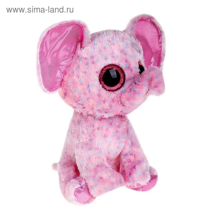 Мягкая игрушка «Слонёнок Ellie», цвет розовый