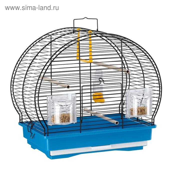 Клетка Ferplast Luna 1 для птиц, 40х23,5х38,5 см, черная