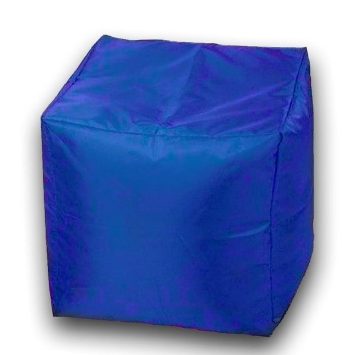 Пуфик Куб макси, ткань нейлон, цвет синий