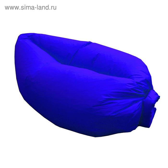 Кресло-лежак Надувной, ткань нейлон, цвет синий