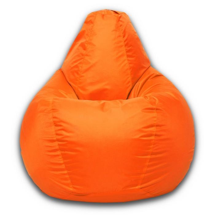 Кресло-мешок Малыш, ткань нейлон, цвет оранжевый люмин