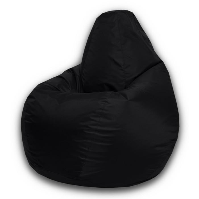 Кресло-мешок Стандарт, ткань нейлон, цвет черный