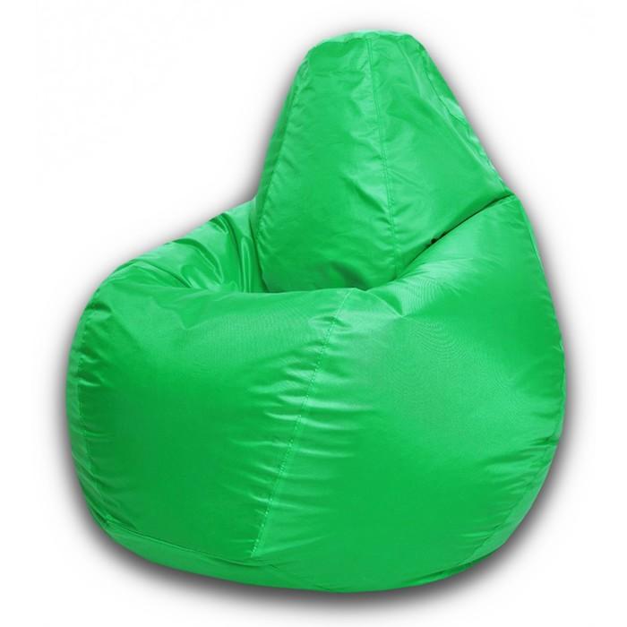 Кресло-мешок XL, ткань нейлон, цвет салатовый
