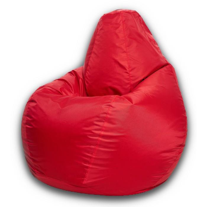 Кресло-мешок XXL, ткань нейлон, цвет красный