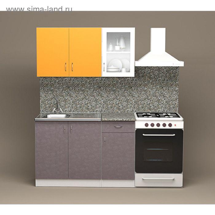 Кухонный гарнитур Анита Манго/Граффити 1200
