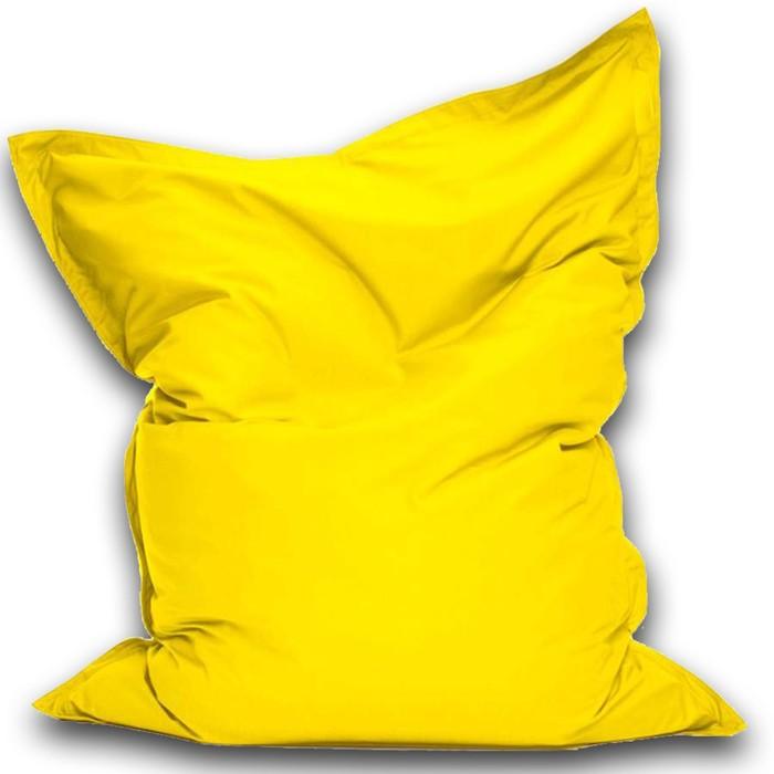 Кресло-мешок Мат мини, ткань нейлон, цвет желтый