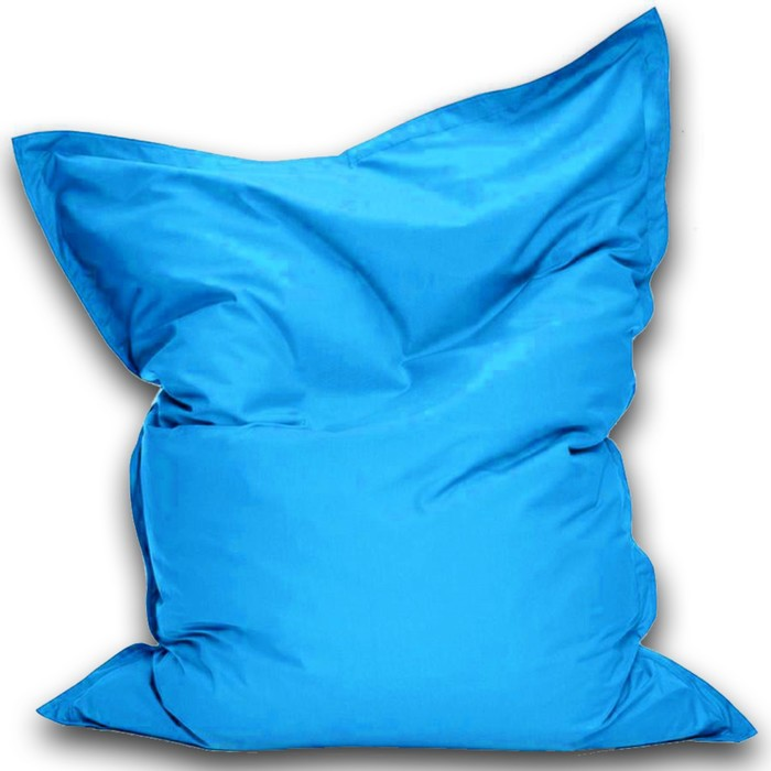 Кресло-мешок Мат макси, ткань нейлон, цвет голубой