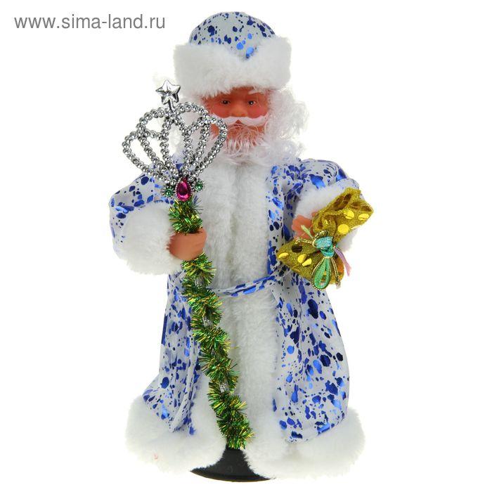 Дед Мороз, в пятнистой шубке, русская мелодия