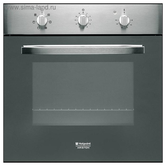 Духовой шкаф Hotpoint-Ariston FHS 21 IX/HA S, электрический, 65 л, серебристый
