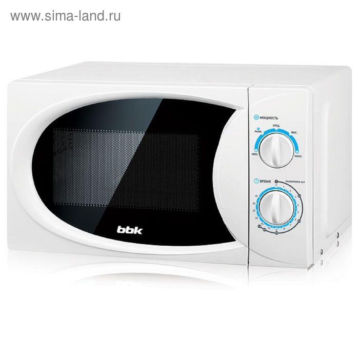 Микроволновая печь BBK 20MWS-710M/W, 20 л, 700 Вт, белый