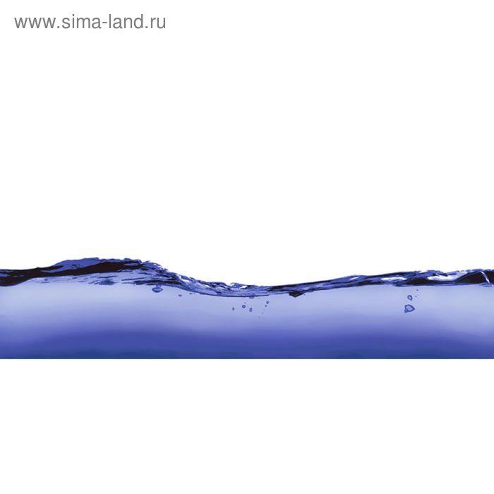 Вставка керамическая Deep Blue DB2G053D Волна, белая, 200х440 мм