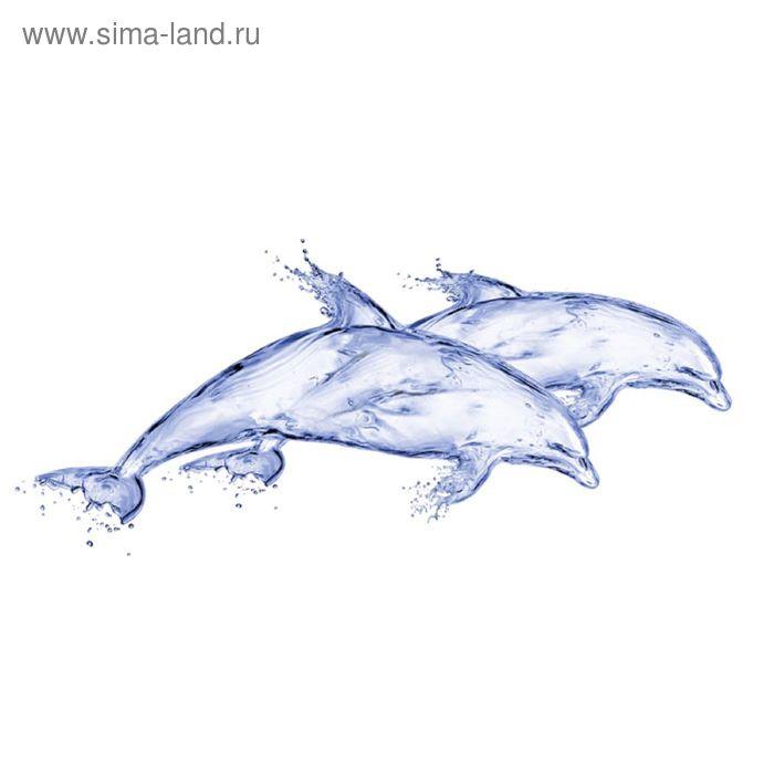 Вставка керамическая Deep Blue DB2G051D Дельфин, белая, 200х440 мм