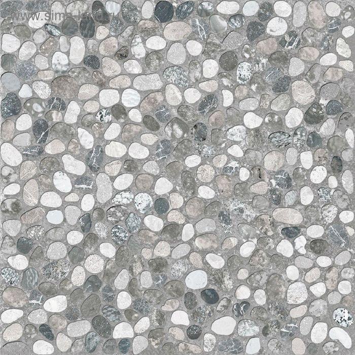 Керамогранит глазурованный Kama C-KI4R092D, серый, 420х420 мм (1,41 м.кв)