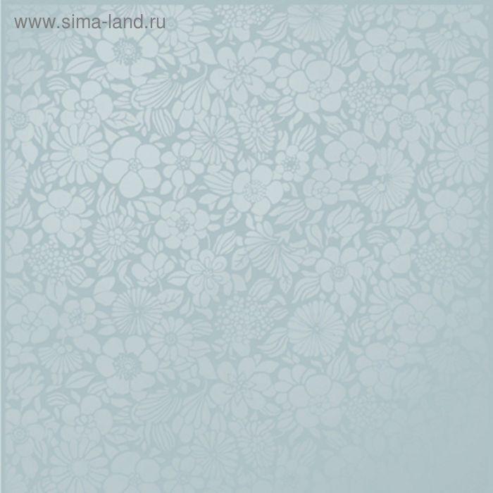 Плитка напольная Edem ED4D042-63, голубая, 330х330 мм (1,33 м.кв)