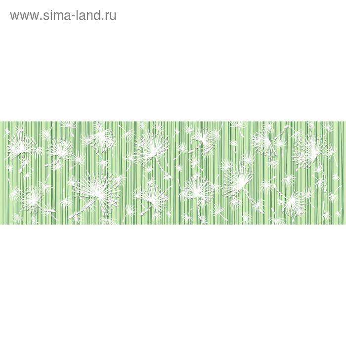 Бордюр керамический Light C-LH1A021, зелёный, 60х200 мм
