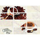 Вставка керамическая Latte LT2M302 Coffee 2, светло-бежевая, 250х350 мм