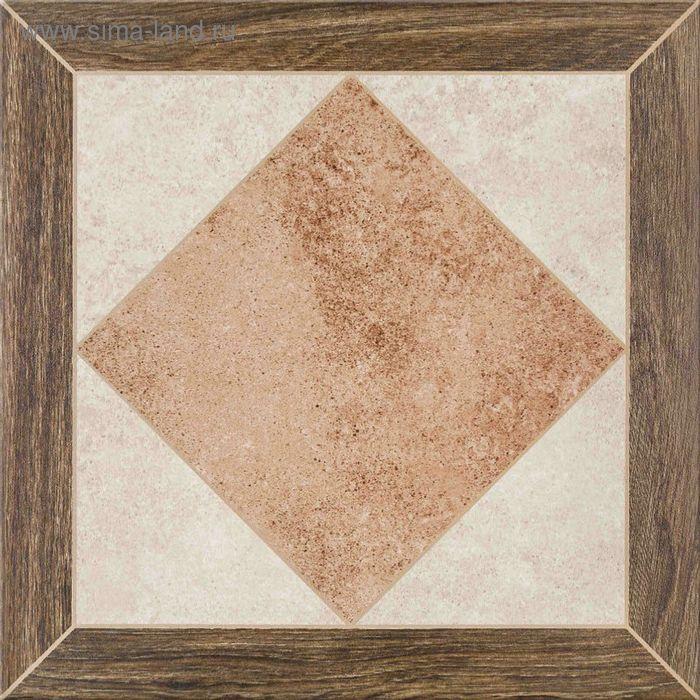 Керамогранит глазурованный Persa C-PE4R452D Wood Frame, многоцветный, 420х420 мм (1,41 м.кв)