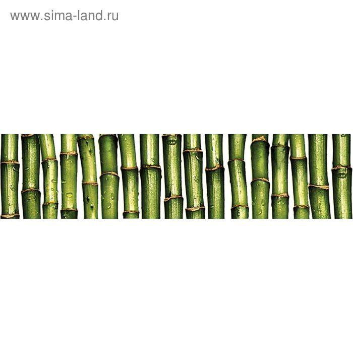 Бордюр керамический Jungle C-JU1C021 Джангл, зелёный, 60х250 мм