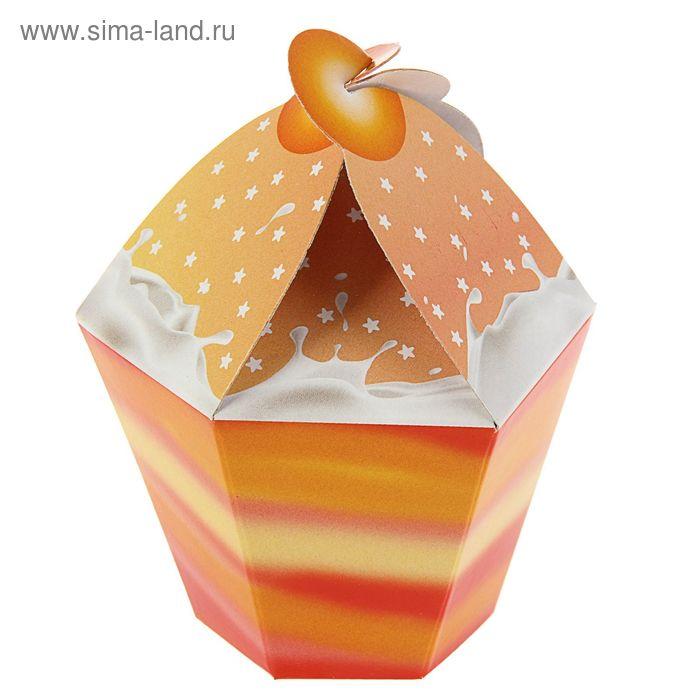 """Упаковка для сладостей """"Персик"""", 5х9 см"""