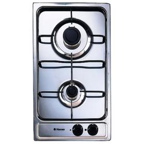 Варочная поверхность Hansa BHGI32100020, газовая, 2 конфорки, серебристый Ош