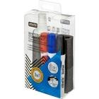 Набор принадлежностей для магнитно-маркерной доски (маркеры, спрей-салфетка, запасные салфетки)