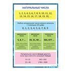 """Обучающий плакат """"Натуральные числа"""", А4"""