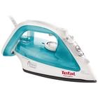 Утюг Tefal FV3910E0, 2200 Вт, вертикальное отпаривание, паровой удар, голубой
