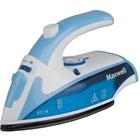 Утюг Maxwell MW-3050B, 800 Вт, подошва из нержавейки, складная ручка, голубой