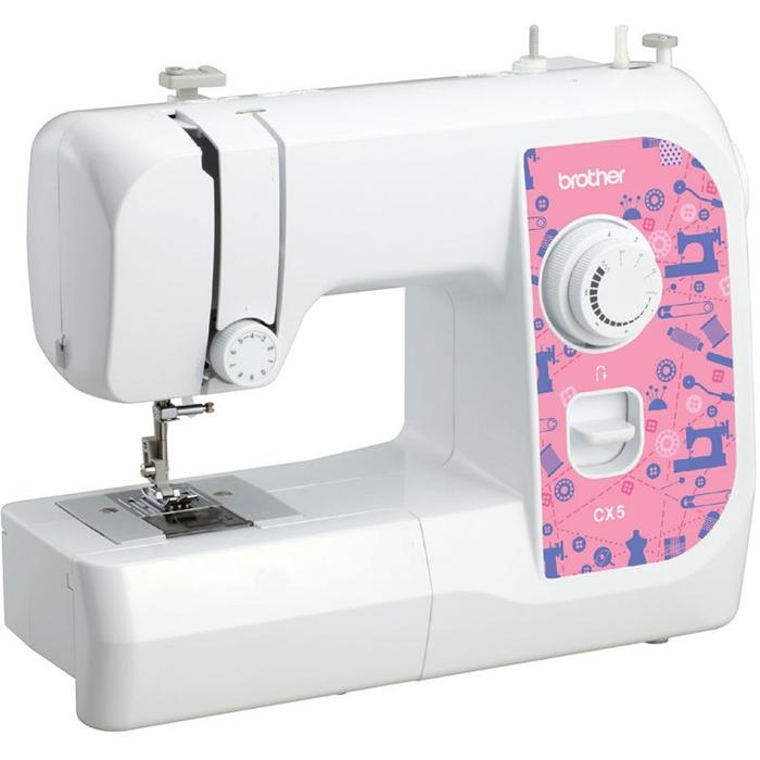Швейная машина Brother CX 5, ручная обработка петли